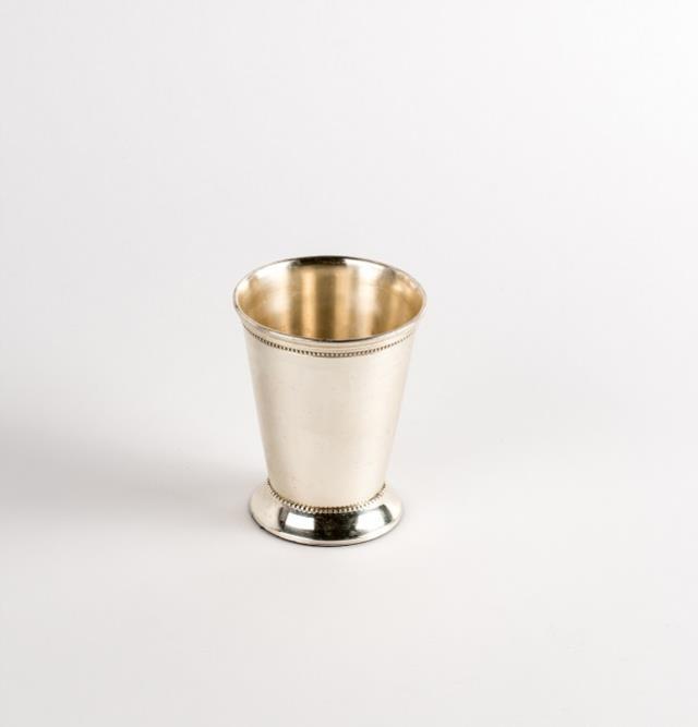 Vase, Mint Julep Cup, Silver, Reception, Table, Floral Arrangements, Decor, Rentals, Event, Planning, Wedding, A-1 Party & Event Rentals, Columbia, MO, Blue Diamond Events
