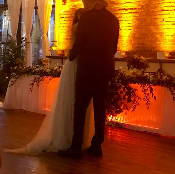 Decor Uplighting is the perfect addition to your DJ/MC Package!  Check out our Elite DJ + Decor Uplighting Bundle and save!  | Blue Diamond Events Weddings | Columbia, MO