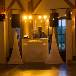 Blue Diamond Events weddings are carefully planned and pieced together by your Wedding Specialist.  We do not do drabby DJ Booths!  | Blue Diamond Events Weddings | Columbia, MO