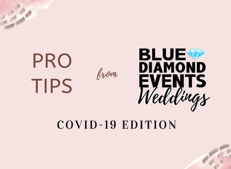 9 PRO WEDDING PLANNING TIPS: COVID19 EDITION