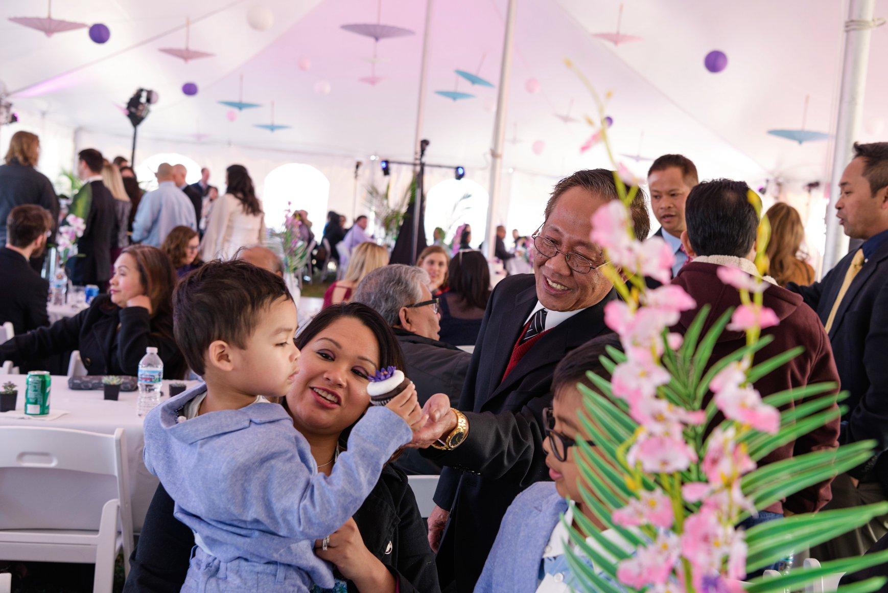 Tropical Cambodian Wedding