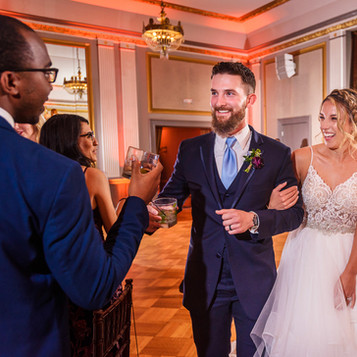 Make a truly Grand Entrance as Newlyweds with Blue Diamond Events!  | Blue Diamond Events Weddings | Columbia, MO