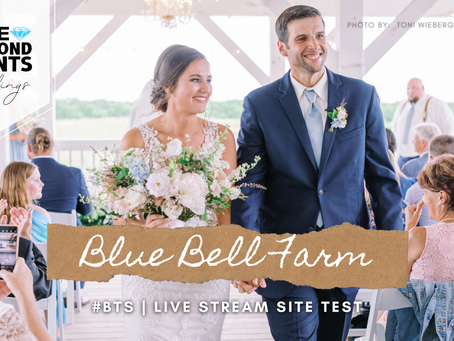 #BTS with BDE | Blue Bell Farms Live Stream Site Test