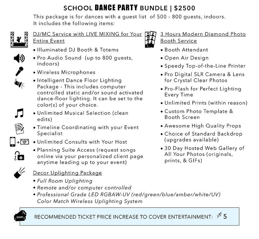 School Packages _ School Dance Party Bun