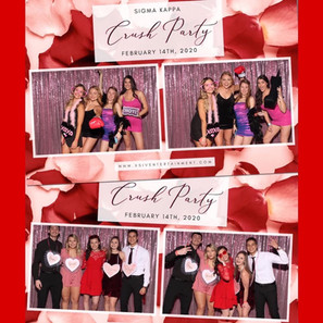 Sigma Kappa Crush Party | XSIV Entertainment by Blue Diamond Events | Photo Booths