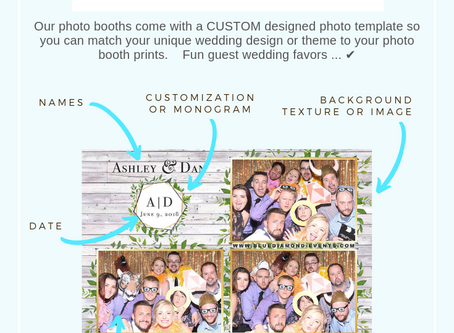 Design Ideas | The Anatomy of a Photo Booth Template