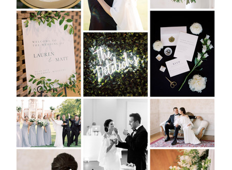 Event Logs | Timeless & Clean Greenery Inspired Wedding @ The Country Club of Missouri