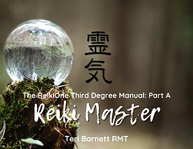 Cover-ReikiOne 3rd Degree Manual Part A.