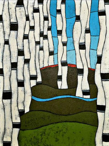 74-Up North, Teri Barnett, acrylic, 40x3