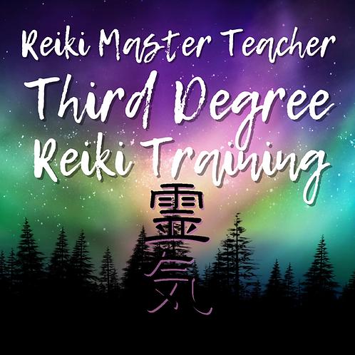 Reiki Master Teacher 3rd Degree Part B: 05.08.21