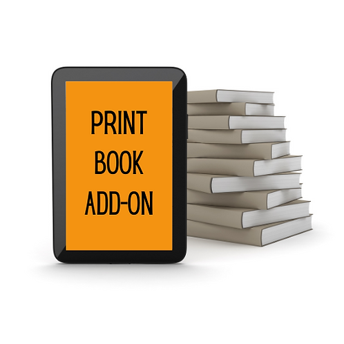 Interior Design/Formatting Upgrade: Print Book