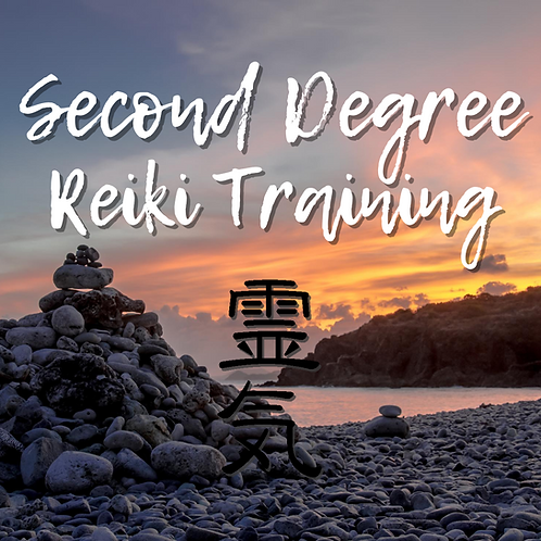 2nd Degree Reiki Class: 09.12.20
