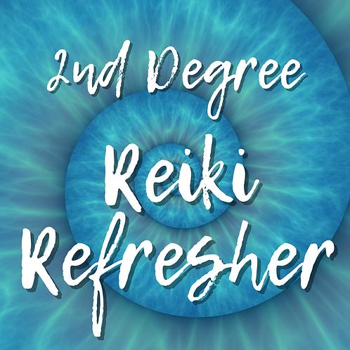 Reiki Refresher: 2nd Degree