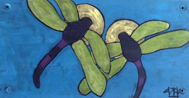 Twin Souls, Teri Barnett, 6x12, acrylic