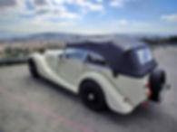 Morgan en Bodas, un coche vintage