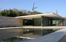 El Pabellón alemán de la exposición internacional de 1929, realizado por Mies Van der Rohe