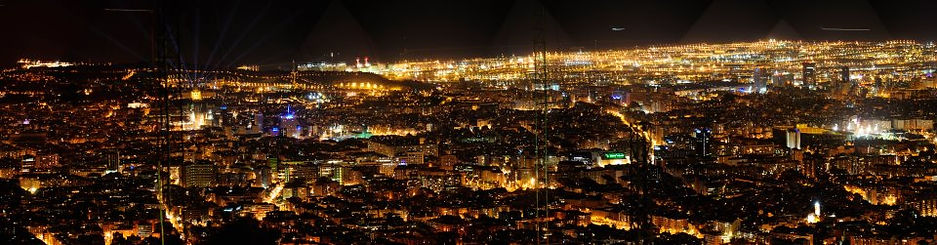 Enjoy the best views of Barcelona driving a Morgan roadster at night tours
