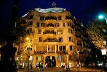 La Pedrera, edificio singular, exponente del modernismo, ubicado en el Paseo de Gracia.