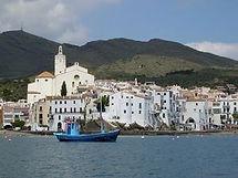 Cadaqués, pueblo de pescadores en el Alt Empordà, lugar de la casa museo de Salvador Dalí, en Port Lligat.