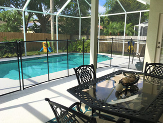 AC 2012 with a filtration system 2019, variable speed pool pump 2016 and pool was converted to a salt water pool in 2019. This waterfront community has a boat ramp on the Anclote River and is just a short distance to the Gulf of Mexico.