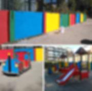 Pintura decorativa para colegio infantil