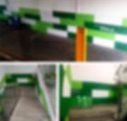 pintura decorativa para nave industrial