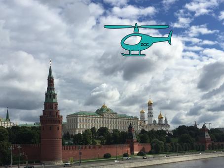 Moscou Vista do Céu - Deslumbrante