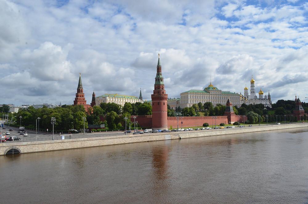 Vista do Kremlin