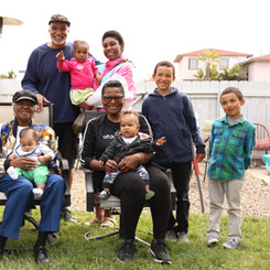 Peace, love and grandkids!