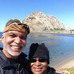 Enjoying Morro Bay!