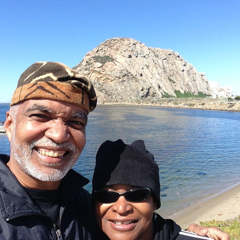 Enjoying Morro Bay!