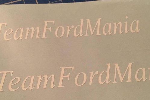 #TeamFordMania