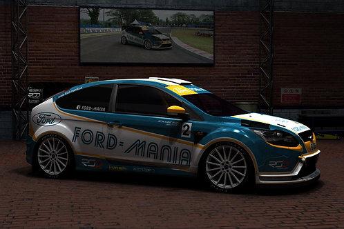Ford Mania Half Wrap
