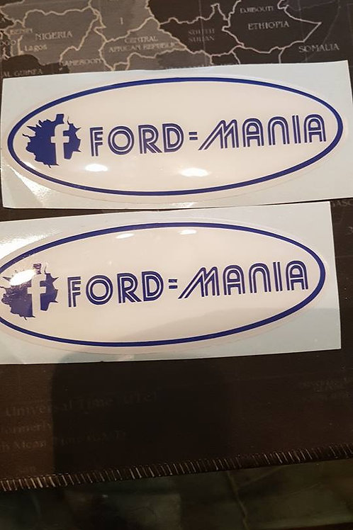Front and Rear Gel Badges
