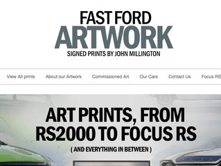 Wow! Fast Ford Artwork
