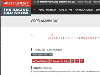 Ford-Mania @Autosport International Show