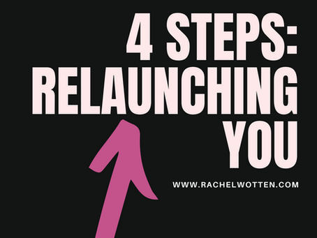 4 Steps: Relaunching you in Covid-19