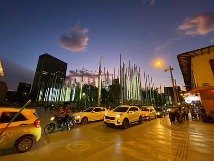 plaza Cisneros Medellin