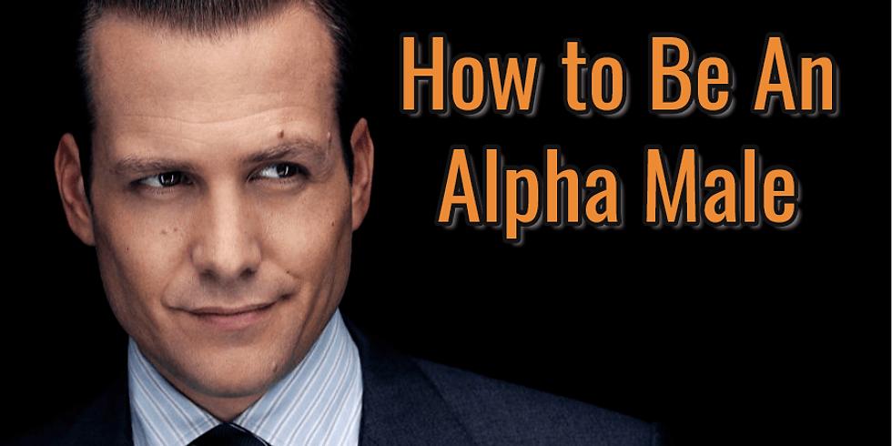 2020年11月30日(一) Live Workshop:男性領袖Alpha Male的修行簡略