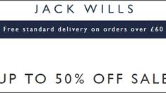 JACK WILLS 夏日優惠 低至5折 (優惠到6月22日)