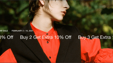 《ITeShop 優惠》I.T 精選減價貨品低至4折,購買2件可享額外9折,購買3件可享額外85折 (優惠至2021年1月10日)