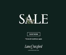 《Lanecrawford 優惠》- 精選AW20服裝可享低至3折 (原為5折)(優惠至2021年1月10日)