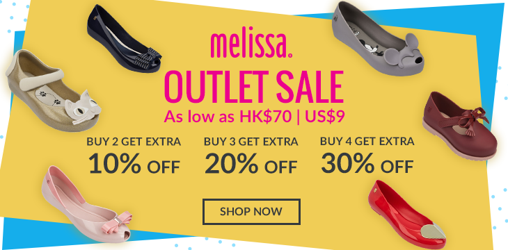 Melissa-dream-outlet-promo
