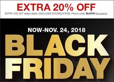 《Macy's Black Friday優惠》全場貨品額外8-85折優惠+免運費 (優惠至11月24日)