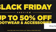 《JD Sports Black Friday優惠》- 精選鞋類及配件低至5折 (優惠至2020年11月26日)