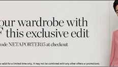 《NET-A-PORTER 優惠》-  全場特選列名Essentials美妝貨品額外85折優惠