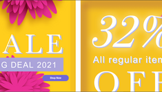 《eefit 優惠》- 全線eefit正價產品可享68折 (優惠至2021年4月30日)