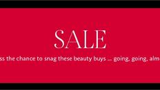 【Sephora優惠】- 購買指定產品即享低至4折  (優惠到2021年10月31日)