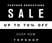 《TOPSHOP 限定一天優惠》- 減價貨低至7折+ 免運費