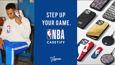 【CASETiFY 優惠】- NBA x CASETiFY 的籃球主題產品其中包括可個人化入場券造型手機殼